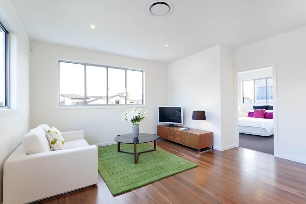 Home Staging Salón minimalista